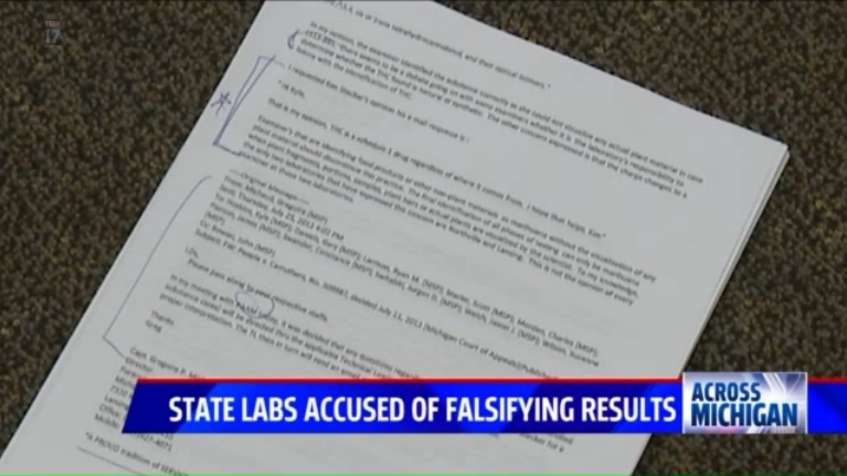 Fox 17 MSP Crime Lab Falsifying Reports_KomornLaw 04