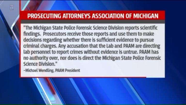 Fox 17 MSP Crime Lab Falsifying Reports_KomornLaw 05