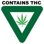 LARA Sticker - Contains THC